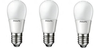 Philips Ace Saver E27 2.7W 230 Lumens LED Bulb (Crystal White, Pack of 3)
