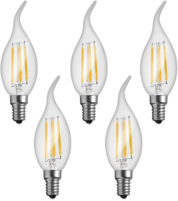 Imperial LWP02 4W E14 LED Filament Bulb (Yellow, Pack Of 5)