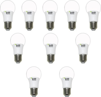 Imperial 3W E27 3640 LED Premium Bulb (White, Pack of 10)