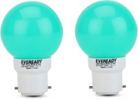 Eveready 0.5 W B22 LED Bulb(Green, Pack of 2)