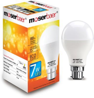 Moserbaer B22 LED 7 W Bulb