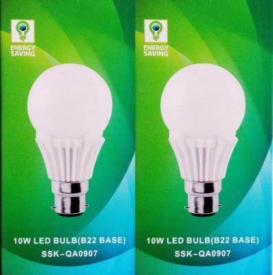 Syska Led Lights 10 W B22 LED Bulb(Pack of 2)