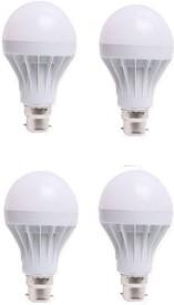 LED 18 W Standard B22 LED Bulb(White, Pack of 4)