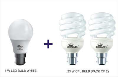 Ornate B22 CFL 7 W, 23 W Bulb