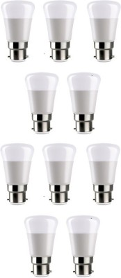 Syska 5 W LED Bulb B22 White (pack of 10)