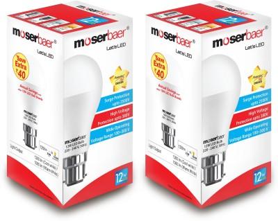 Moserbaer B22 LED 12 W Bulb