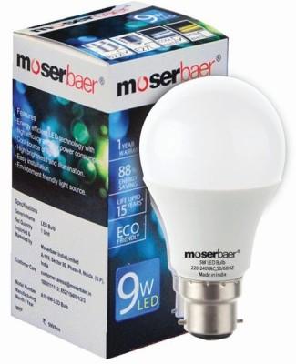 Moserbaer B22 LED 9 W Bulb