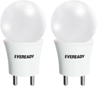 Eveready 0.5 W Plug & Play LED Bulb(White, Pack of 2)