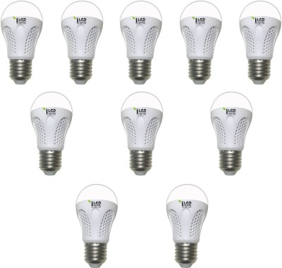 Imperial 4W-CW-E27-3526-10 Premium LED Bulb (White, Pack Of 10)