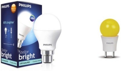 Philips B22 LED 9 W, 0.5 W Bulb