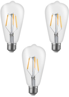 Imperial 16181 ST01 4W E27 LED Filament Bulb (Yellow, Pack Of 3)