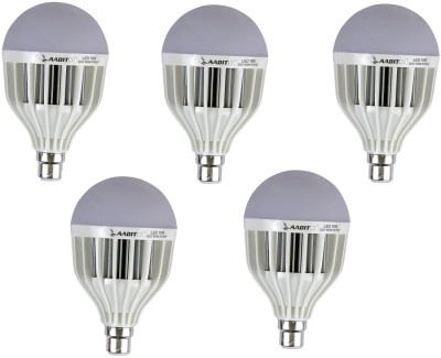Aaditya-18W-HP-LED-Bulb-(White,-Pack-Of-5)