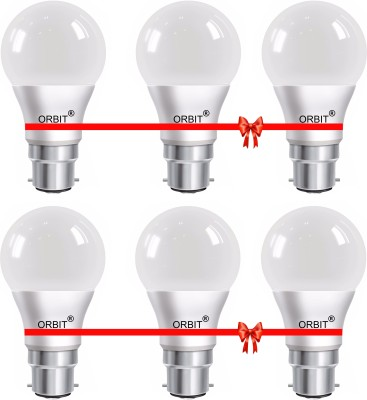 Orbit-Eco-Series-9W-B22-LED-Bulb-(Cool-Day-Light,-Pack-of-6)