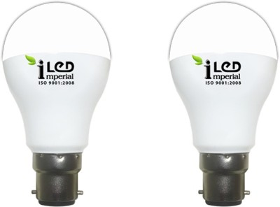 Imperial 12W-WW-BC22-3633 LED Bulb (Yellow, Pack of 2)