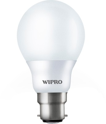 Wipro 7 W B22 LED Bulb(Yellow)
