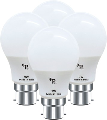 Tp 9W B22 LED Bulb (Pack Of 4 ,White)