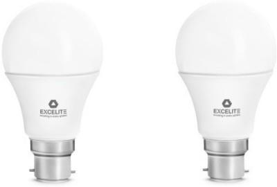 excelite Dazzel 9W LED Bulb (White, Pack of 2)