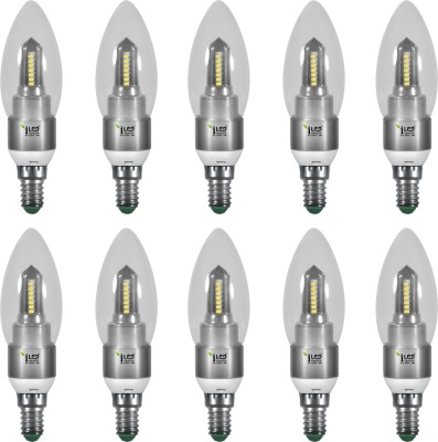 Imperial 3689 3W E14 LED Bulb (White, Pack Of 10)
