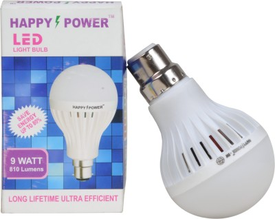 Happy-Power-9W-LED-Bulb-(White,-Pack-of-8)