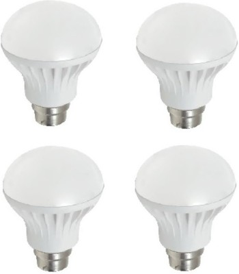 Flolite 9W LED Bulbs (White, Pack of 4)