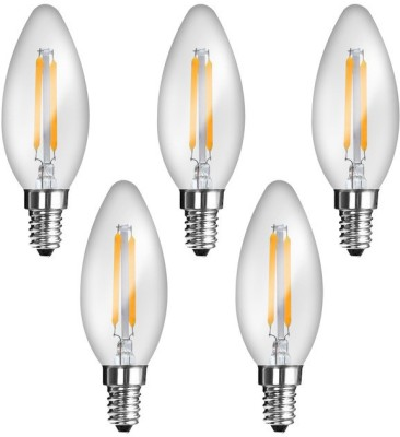 Imperial JP02 2W E14 LED Filament Bulb (Yellow, Pack Of 5)