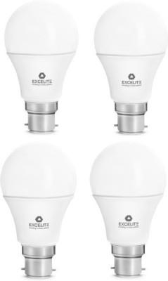 excelite Dazzel 7W LED Bulb (White, Pack of 4)