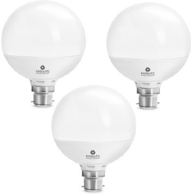excelite 15W White 1200 Lumens LED Dazzel Bulb (Pack Of 3)