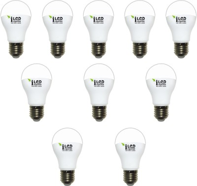 Imperial 10W-WW-E27-3623 Premium LED Bulb (Warm White, Pack Of 10)