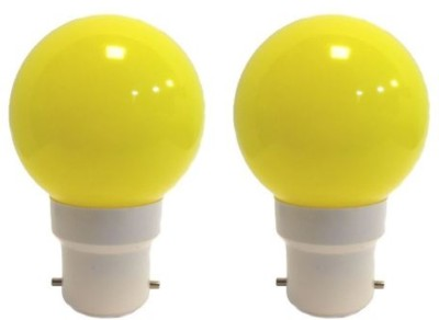 Ornate-0.5-W-LED-Bulb-(Yellow,-Pack-of-2)