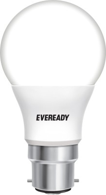 Eveready Cool Day Light - Get 4 Alkaline Strip Free 5 W LED Bulb (White)