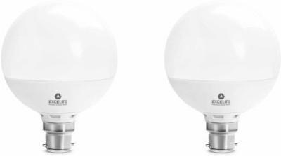 excelite-15W-White-1500-Lumens-LED-Dazzel-Bulb-(Pack-Of-2)