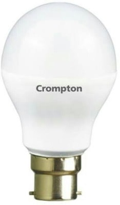 Crompton 5 W Standard B22 LED Bulb(White, Pack of 2)
