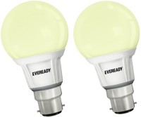 Eveready 7 W B22 LED Bulb(White, Pack of 2)