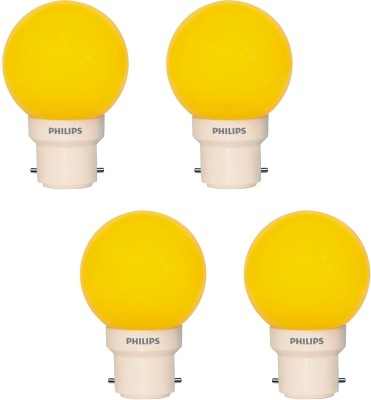 Philips 0.5 W LED Set Of 4 Decomini Bulb