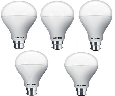 Wipro-Garnet-14W-B22-LED-Bulb-(Warm-White,-Pack-Of-5)