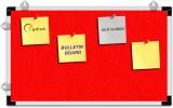 Radius In Cork Bulletin Board (Red 14 in...