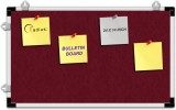 Radius In Cork Bulletin Board (Maroon 14...