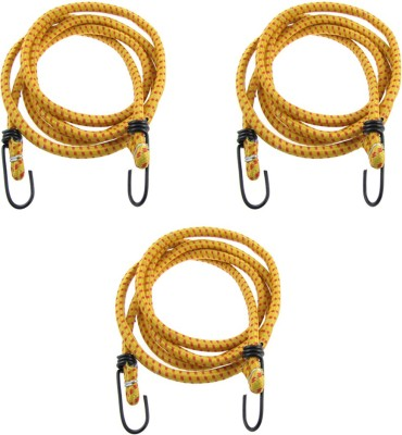 Hua You Elastic Bungee Cord Cables, Luggage Tying Vehicle Ropes 2.5 metres x 10 mm (Multicolor) Bungee Cord(250 cm)