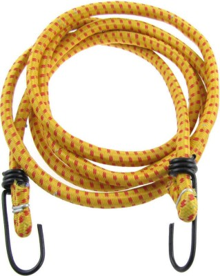 Hua You Elastic Bungee, Shock Cord Cables, Luggage Tying Rope on vehicles 2.5 m x 10 mm (Multicolor) Bungee Cord(250 cm)