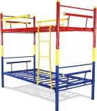 FurnitureKraft Metal Bunk Bed (Finish Co...