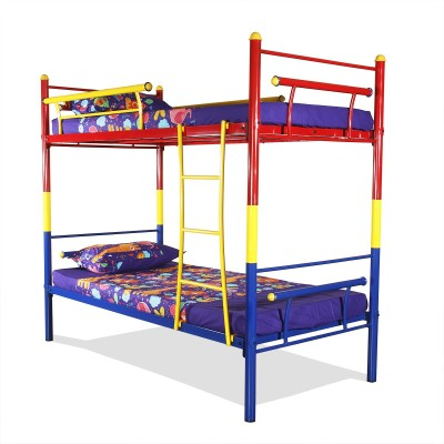 FurnitureKraft Metal Bunk Bed(Finish Color - Multicolor)
