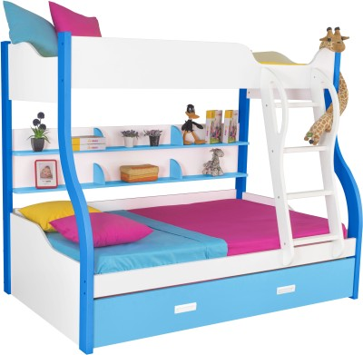 Alex Daisy Cloumbia Engineered Wood Bunk Bed
