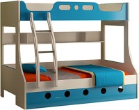 HomeTown Engineered Wood Bunk Bed(Finish Color - Blue)