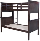 HomeTown Solid Wood Bunk Bed (Finish Col...