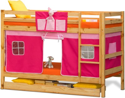 Alex Daisy Oslo Solid Wood Bunk Bed(Finish Color - Wooden)