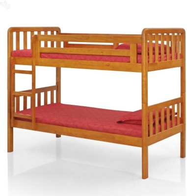 Royal Oak Scout Solid Wood Bunk Bed(Finish Color - Natural Brown)