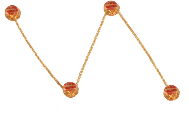 Sushito Nigah Kurta Brass Buttons(Pack of 4)