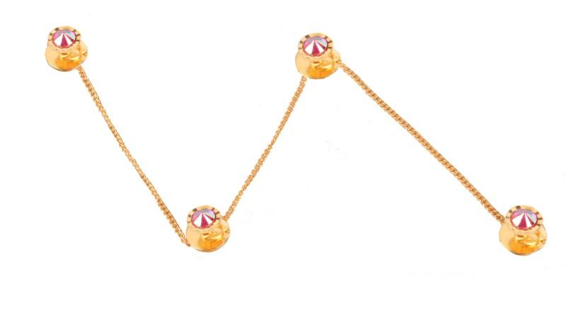Sushito Designer Kurta Brass Buttons(Pack of 4)