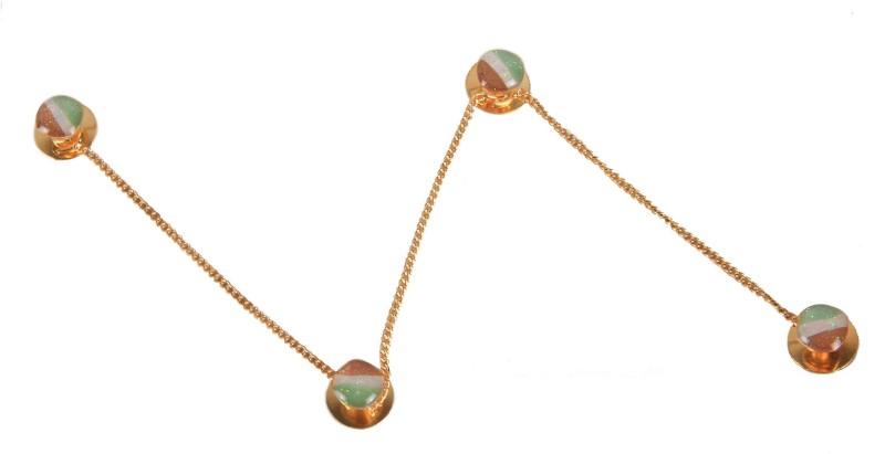 Sushito Vivahm Kurta Brass Buttons(Pack of 4)
