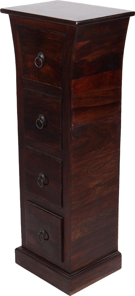 View Wood Dekor Engineered Wood Free Standing Cabinet(Finish Color - Brown) Price Online(Wood Dekor)